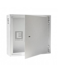 Антивандальный ящик БК-550-з-2 3U 1.5 мм, петли