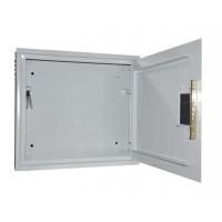 Антивандальный ящик БК-550-з-2 4U 1.5 мм, петли