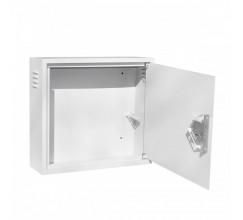 Антивандальный ящик БК-550-з-2 2U 1.5 мм, петли