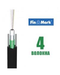 Оптический кабель FinMark UT004-SM-04, 4 волокна