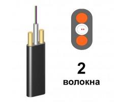 Оптический кабель ОКАДт-Д(1,0)П-2Е1 - 2 волокна