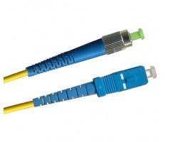 Внутренний патчкорд sm, simplex, FC/UPC -SC/UPC, 3мм