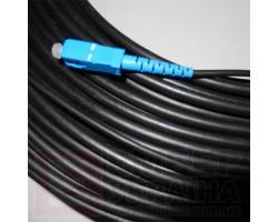 Внешний патчкорд из круглого кабеля ОЦПс, 5,5мм (диэлектрик)
