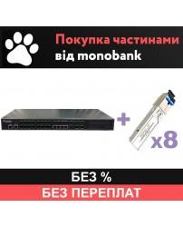 OLT P3608-2TE-AC/DC и 8 SFP - рассрочка Monobank