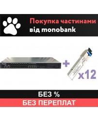 OLT P3612-2TE-AC/DC и 12 SFP - рассрочка Monobank
