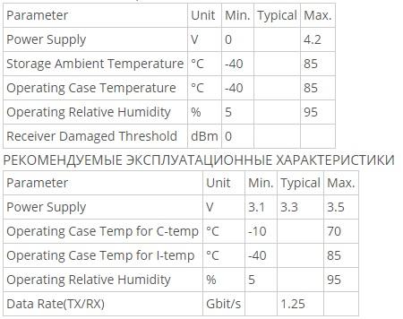 Трансивер FoxGate SFP-1,25G-GEPON (C+)-20SC